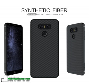 Ốp lưng carbon Nillkin SYNTHETIC FIBER LG G6